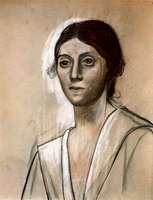 Pablo Picasso. Portrait of Olga, 1921