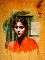 Pablo Picasso. Portrait of Olga