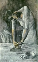 Pablo Picasso. Woman Ironing, 1904