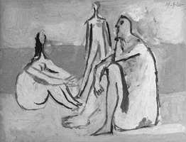 Pablo Picasso. Three Bathers II