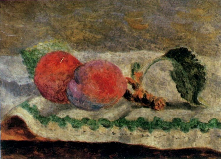 Pablo Picasso. Two peaches, 1918
