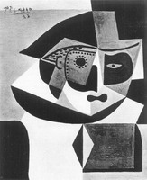 Pablo Picasso. Head of Harlequin