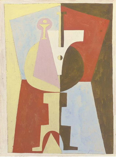 Pablo Picasso. The Pedestal (The Pedestal Table), 1920