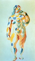 Pablo Picasso. Standing Woman
