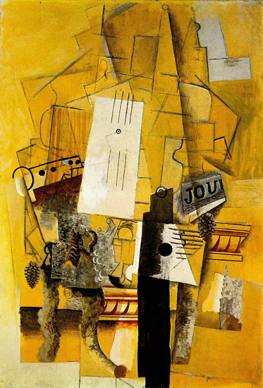 Pablo Picasso. The pedestal, 1920