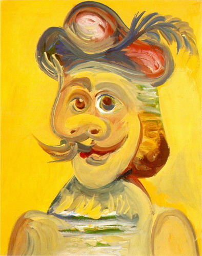 Pablo Picasso. Head musketeer, 1971