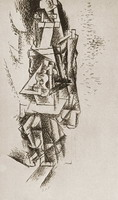 Pablo Picasso. Man with Guitar