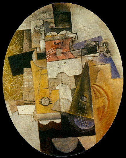 Pablo Picasso. Musical instruments, 1912