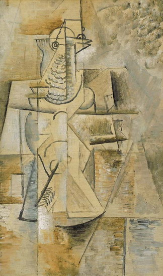 Pablo Picasso. The pigeon, 1912