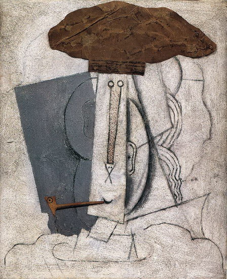 Pablo Picasso. Student with a Pipe, 1914