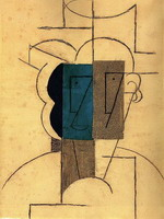 Pablo Picasso. Head man with a hat