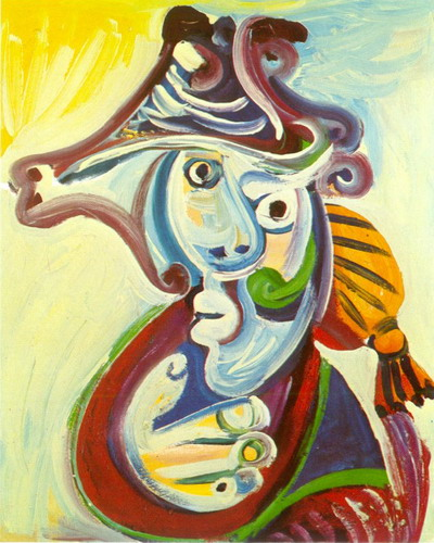 Pablo Picasso. Bullfighter Bust, 1971