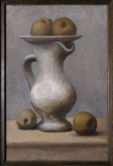 Pablo Picasso. Still Life with Pitcher and Apples, 1913