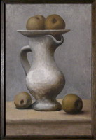 Pablo Picasso. Still Life with Pitcher and Apples