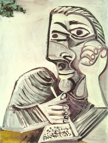 Pablo Picasso. Character in the book, 1971