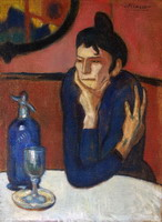 Pablo Picasso. Theme:  Absinth.