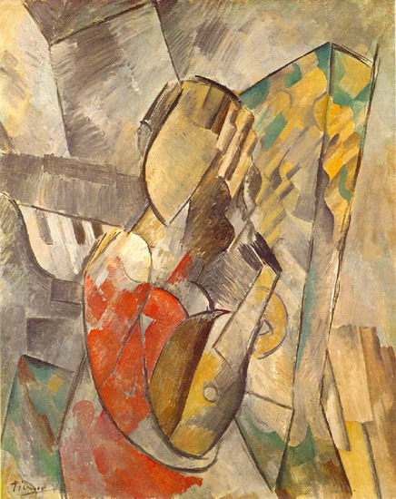 Pablo Picasso. Woman with Mandolin, 1925