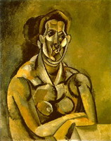 Pablo Picasso. Bust of a Woman (Fernande)