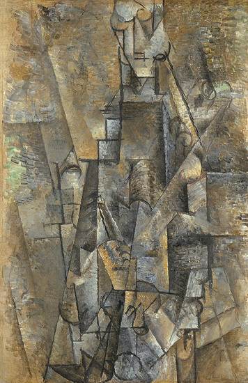 Pablo Picasso. Man with a Clarinet, 1911