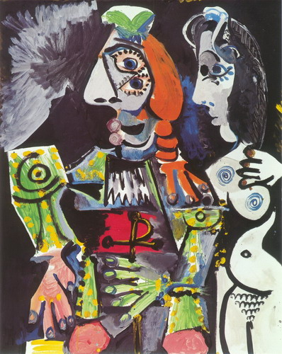 Pablo Picasso. Matador and nude woman (The matador and naked woman), 1970