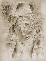 Pablo Picasso. Head of Spanish