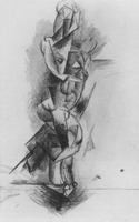 Pablo Picasso. Nude Woman, 1910