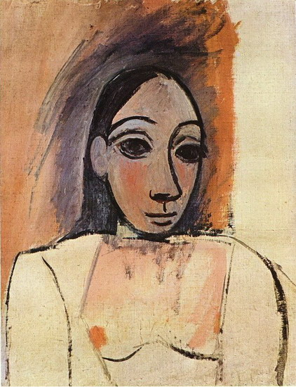 Pablo Picasso. Female bust, 1906