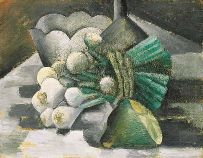 Pablo Picasso. Still life with onions, 1908