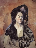 Portrait of Madame Benedetta Canals