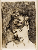 Pablo Picasso. Head of a Woman: Madeleine
