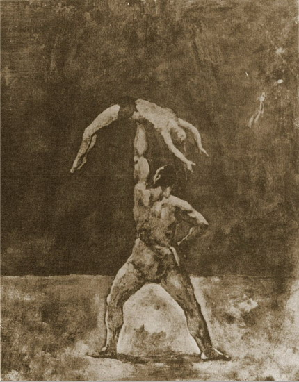 Pablo Picasso. Home The athlete, 1905