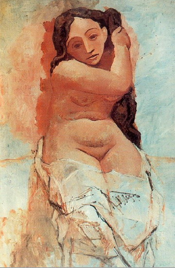 Pablo Picasso. The Coiffur, 1906