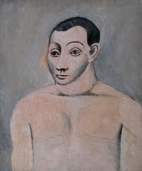 Pablo Picasso. Bust of man, 1906