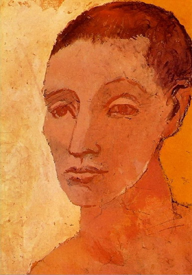 Pablo Picasso. Head boy, 1906