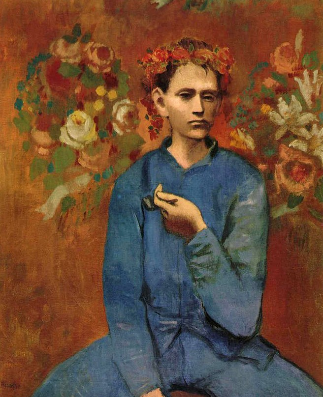 Pablo Picasso. Boy with a Pipe, 1905