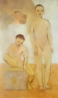 Pablo Picasso. Two young