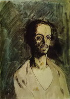 Pablo Picasso. The Catalan Sculptor Manolo (Manuel Hugue)