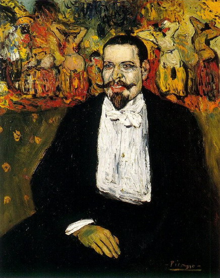 Pablo Picasso. Portrait of Gustave Coquiot, 1901