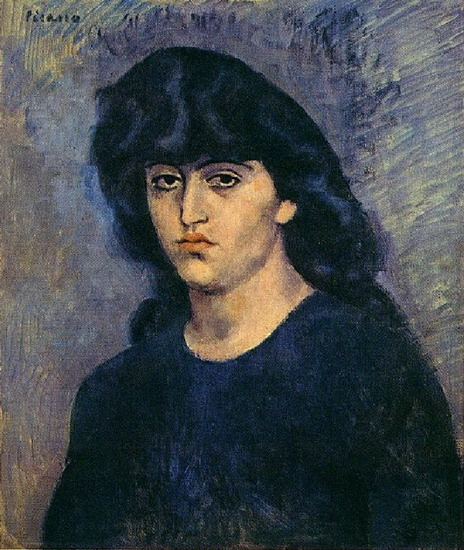 Pablo Picasso. Portrait of Suzanne Bloch, 1904