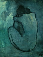 Pablo Picasso. Blue Nude