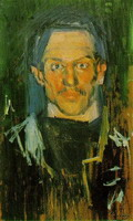 Pablo Picasso. Self Portrait -
