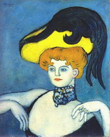 Pablo Picasso. In Courtesan Necklace Gems