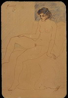 Pablo Picasso. Nude Woman, 1906