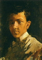 Pablo Picasso. Self-Portrait with short hair