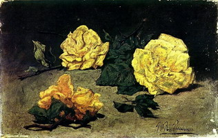 Pablo Picasso. three roses