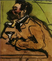 Caricature (Portrait of Josep Rocarol)