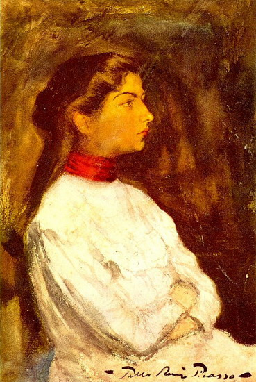 Pablo Picasso. Portrait of lola2, 1899