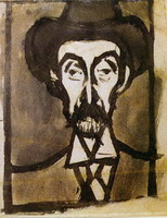 Portrait d`Utrillo