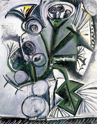 Pablo Picasso. Bouquet of flowers, 1969