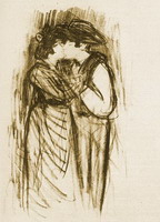 Pablo Picasso. The kiss